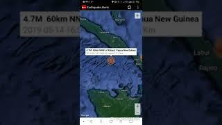 Rabaul, Papua New Guinea Earthquake May 14th, 2019