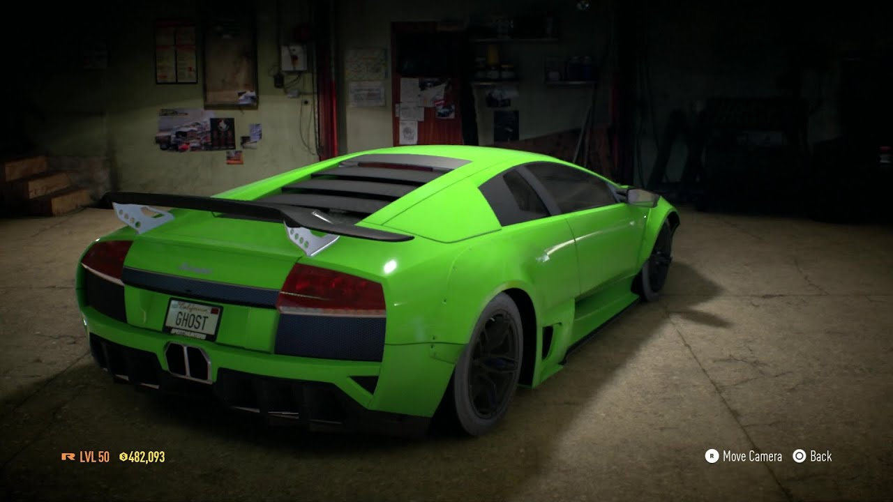 need for speed 2016 lamborghini murci lago 380 km h top speed youtube. Black Bedroom Furniture Sets. Home Design Ideas