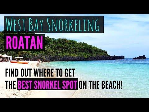 West Bay Beach and Snorkeling in Roatan Honduras - Travel Roatan