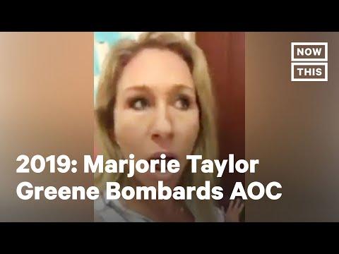 Marjorie Taylor Greene Harasses AOC in 2019 Video