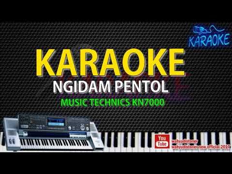 KARAOKE Ngidam Pentol Technics KN7000 JAWA Campur Sari - Tanpa Vocal Video Lirik HD