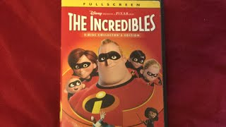 Opening To: The Incredibles 2005 DVD