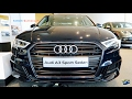 NEW 2018 Audi A3 Sedan S-Line - Exterior & Interior