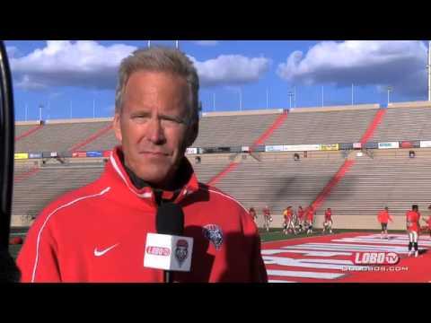 2014 Lobo Football | Coach Bob Davie: Spring Practice #5 Wrap Up