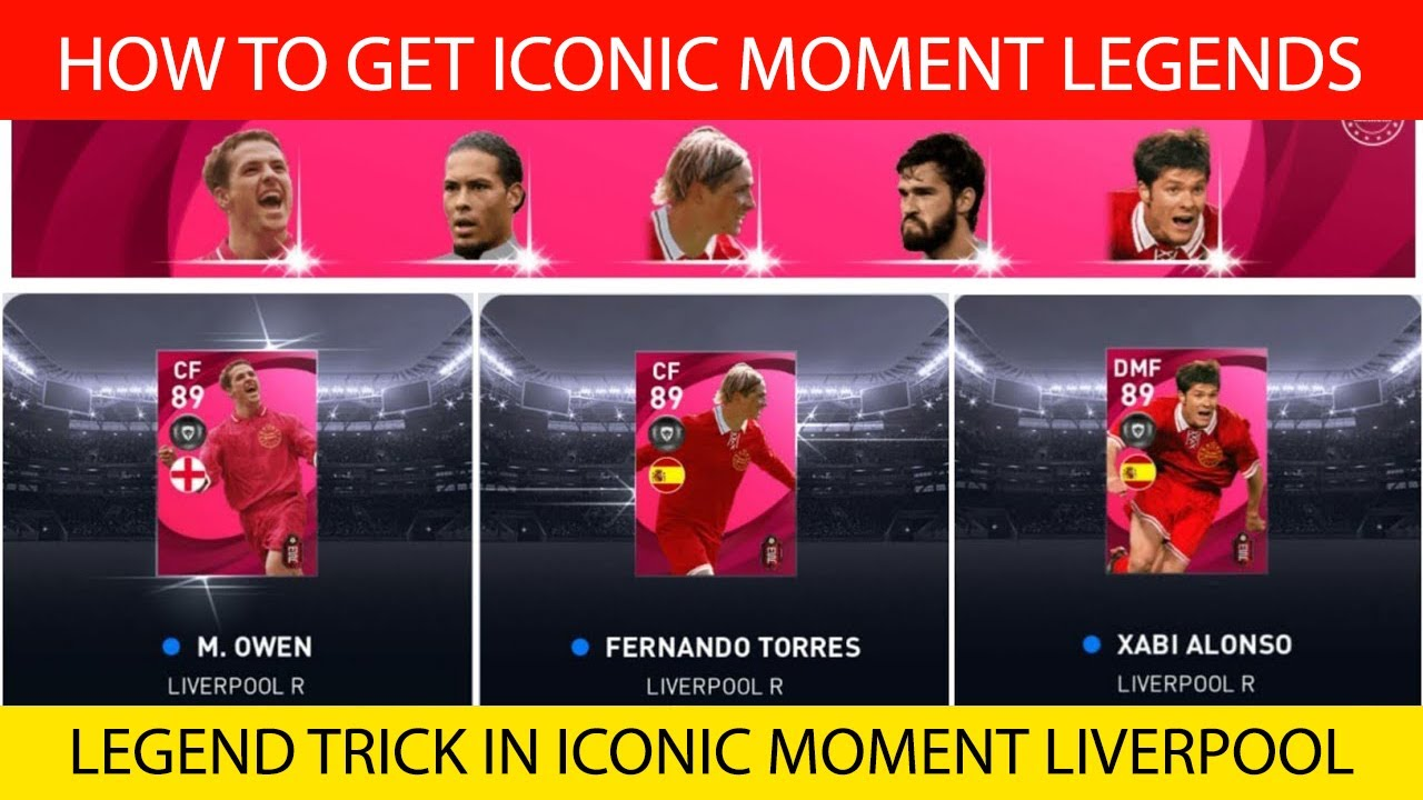 HOW TO GET ICONIC LEGENDS FROM ICONIC MOMENT LIVERPOOL BOX DRAW   PES 2021 MOBILE