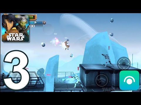Star Wars Rebels: Recon Missions - Gameplay Walkthrough Part 3 - Missions 4-6 (iOS, Android)