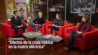 """Conversatorio """"Efectos de la crisis hídrica en la matriz eléctrica"""""""