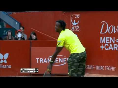 Simone Bolelli vs Gael Monfils Highlights Bucharest 2015