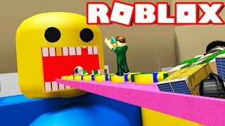 THEY EAT ME IN ROBLOX ! Roblox Get Eaten in Spanish