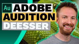 How to Use The DeEsser in Adobe Audition