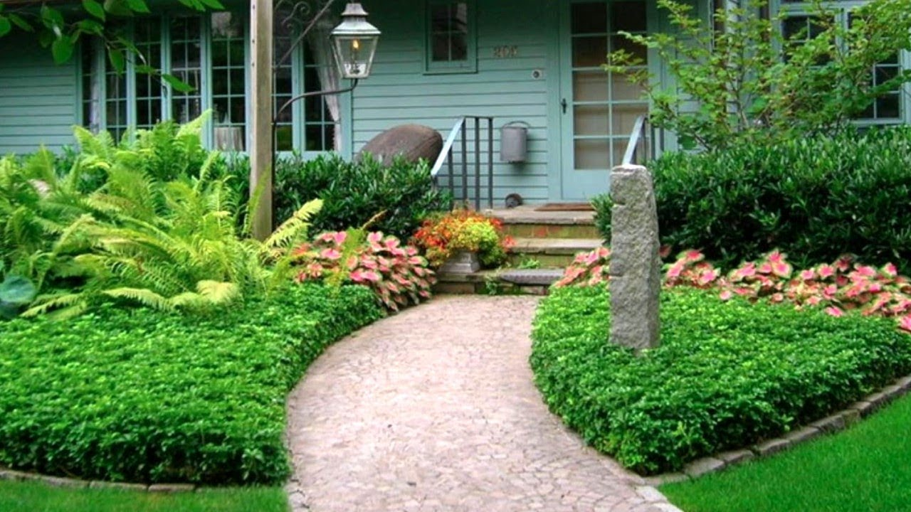 65 Fabulous Front Yards, Landscaping Ideas | Part 6 - YouTube on Landscape Front Yard Ideas  id=47919