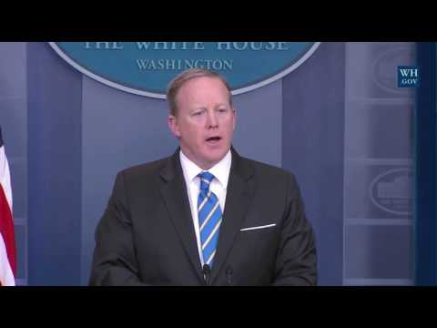 Thumbnail: Spicer Cuts Off Questions On Trump Recordings