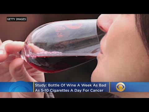 Study: Bottle Of Wine A Week 'As Bad As 5-10 Cigarettes' For Cancer Risk