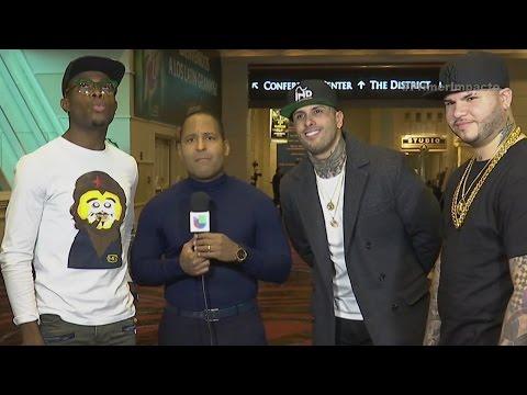 OMI, Nikky Jam y Farruko están listos para la entrega del Grammy Latino