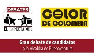 Debate Candidatos Alcaldía de Buenaventura