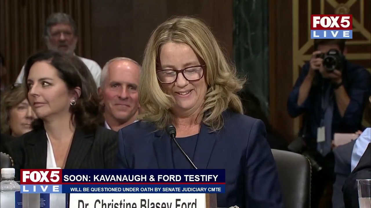 Image result for photos of senators at kavanaugh hearing 9/27