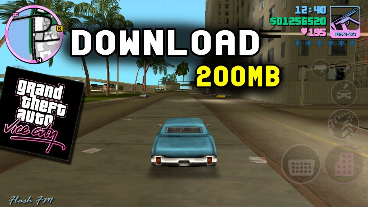 GTA Vice City LITE Oficial (200mb) - Todas as GPU's | (APK+OBB)