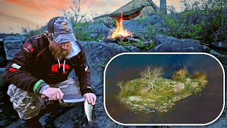 Surviving on an Island with No Resources | Solo Catch & Cook