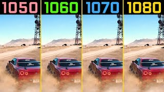 Need for Speed Payback GTX 1050 Ti vs. GTX 1060 vs. GTX 1070 vs. GTX 1080