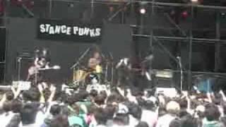 STANCE PUNKS ライブ(福岡) 『モニー・モニー・モニー』