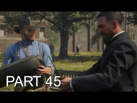 Red Dead Redemption 2 PART 45: PROFESSOR DRAGIC| WALKTHROUGH