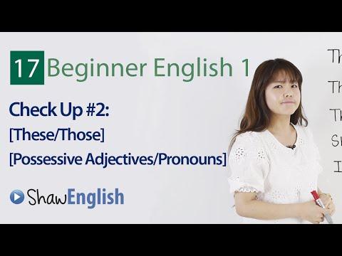 English Grammar: Grammar Check Up #2