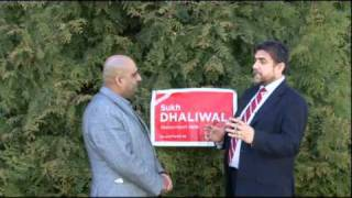 Sukh Dhaliwal - Newton North Delta- Canadian Federal Election  May 2011