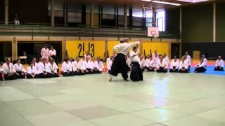 JODAN TSUKI VARIATION MOVEMENT, ENTERING