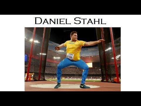 Daniel Stahl (1992-08-27) Swedish discus thrower.
