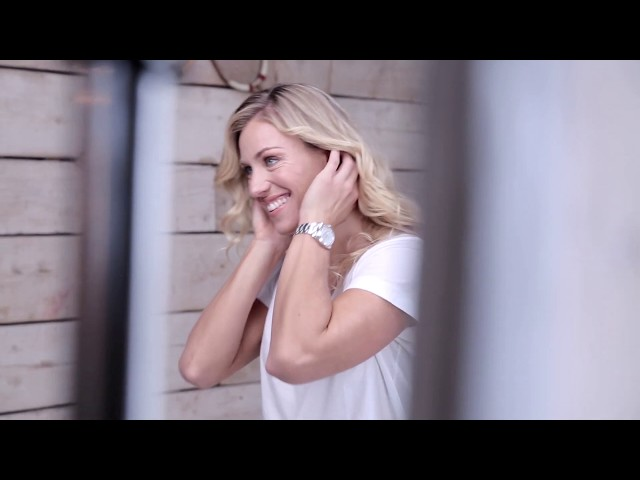 bareMinerals BTS with Angie Kerber