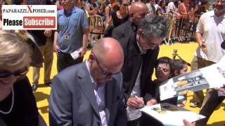 Pierre Coffin And Chris Renaud At The Despicable Me 2 Premiere At Universal Citywalk
