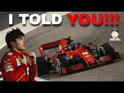 Leclerc UNHEARD HEATED DISCUSSION ON THE RADIO! | 2020 Bahrain GP