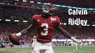 Film Room: Calvin Ridley, WR, Alabama Scouting Report (NFL Draft 2018 Ep. 13)