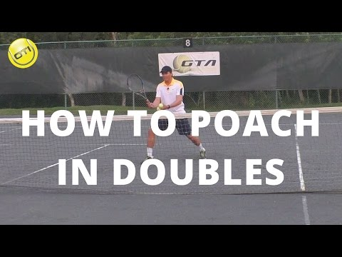 Thumbnail: Tennis Tip: How To Poach In Doubles - Net Domination Video #2