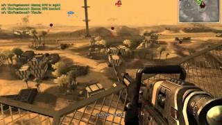 Battlefield 2142 Suez Canal Titan gameplay
