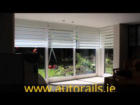 Luxaflex Motorised Twist Roller-Blinds