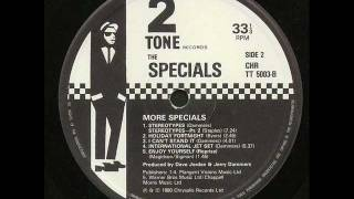 TAKEN FROM THE SPECIALS 2ND ALBUM - MORE SPECIALS. B SIDE - TRACK 3...