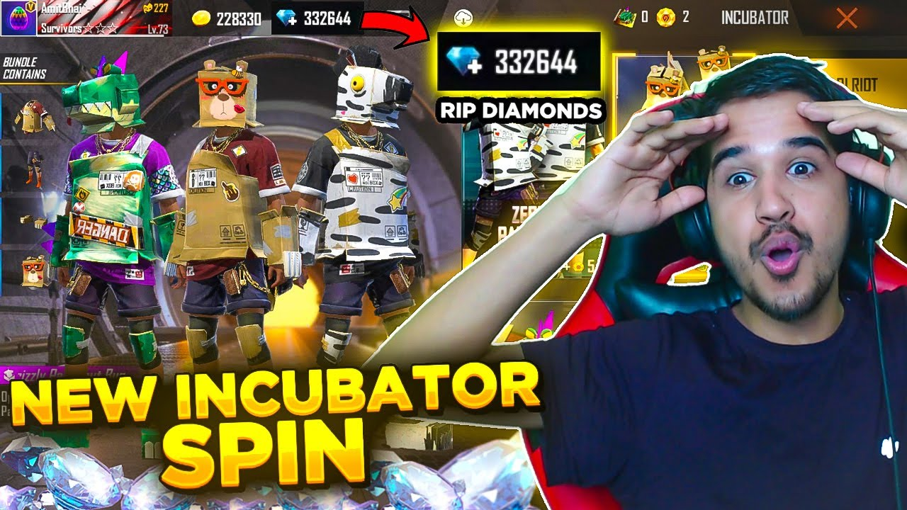 New Incubator Spin || RIP My Diamonds || Desi Gamers