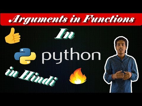 Arguments in Function in Python in Hindi || Python tutorial in Hindi || Learn python with comp point thumbnail