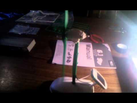 Red 5 Solar Windmill gadget