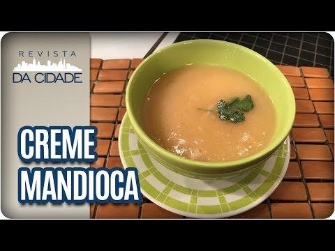 Receita De Creme De Mandioca - Revista Da Cidade (24/07/2017)