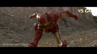 Гражданская война - Железный человек против Капитана Америки - подвиг Новый Человек-Паук:
