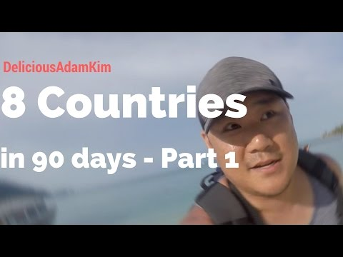 8 Countries in 90 Days! - Taiwan - Vietnam - Cambodia - Thailand - Part 1