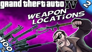 GTA IV - BEST Weapons at the Beginning of the Game [100% Walkthrough]