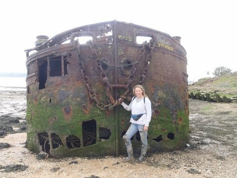 Hoo Island Adventure series Part Two  - A gruesome find & some historical buttons