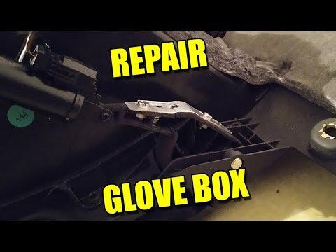 Remove and Repair Glove Box on Audi TT Mk2