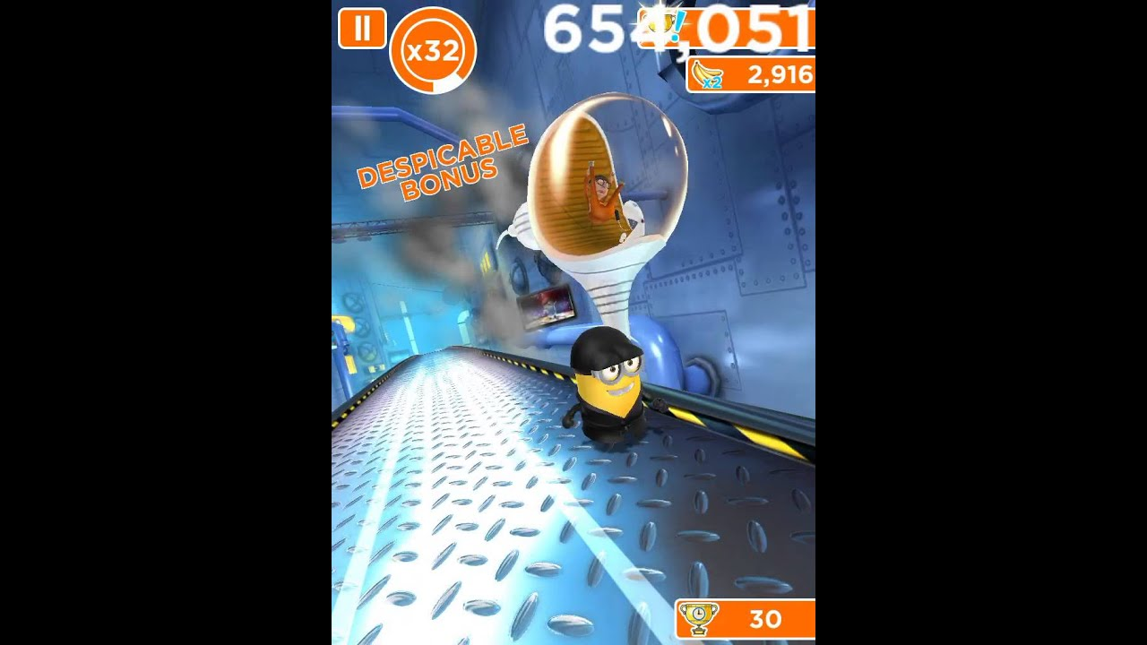 Despicable Me : MINION RUSH (VECTOR BATTLE) - YouTube