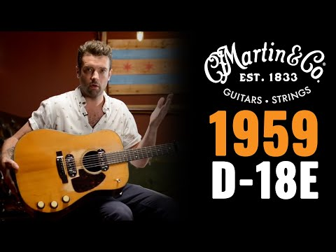 1959 Martin D-18E Acoustic-Electric Natural | Vintage Acoustic Guitar Demo