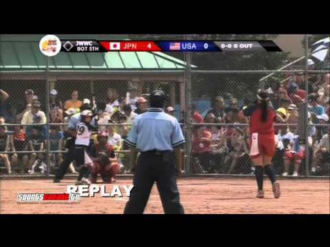 Japan vs USA - Unbelievable Gold Medal Game - 2013 Junior Women's Fastpitch Worlds