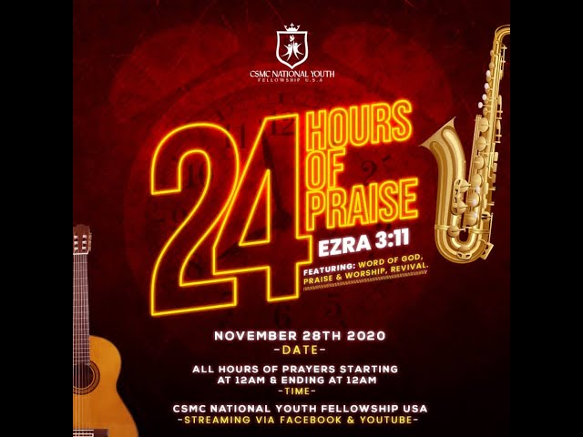 24 Hours of Praise | 12pm